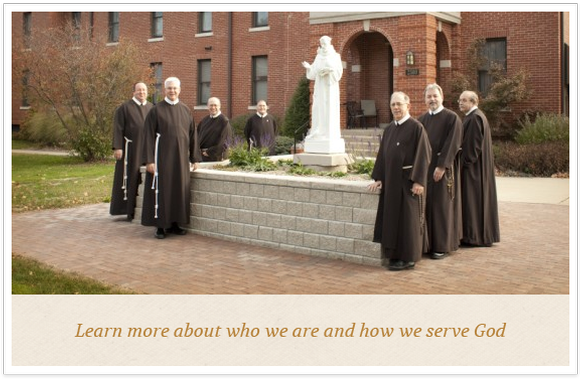 Graphic link to Learning more about Franciscan Brothers